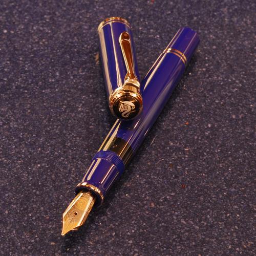 ペリカン 万年筆 スーベレーン M805 ダークブルー