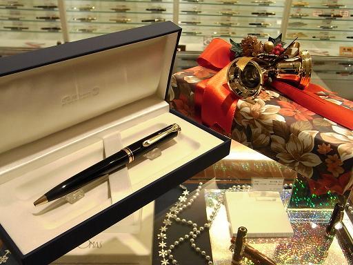 ペリカンスーベレーンK800とクリスマスラッピング