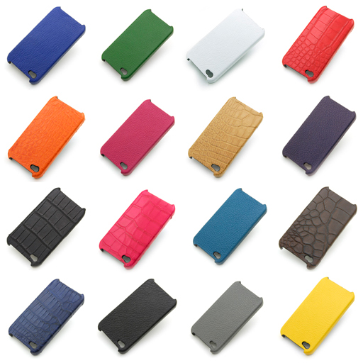 革と色、合計23色の中からお選びいただけます。