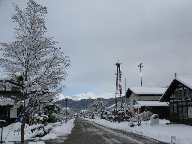 冬景色、雪景色、
