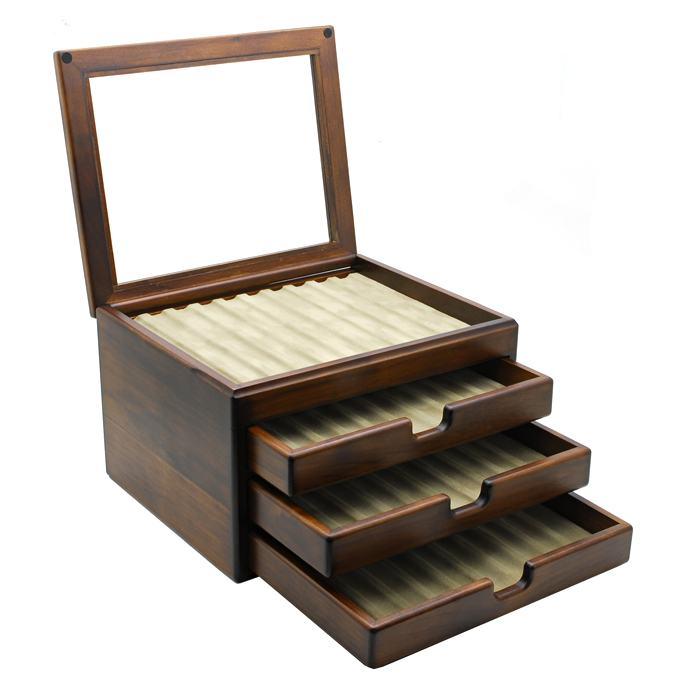 豊岡クラフト万年筆箱40本用