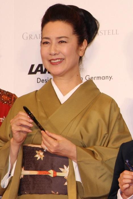 名取裕子さん、着物姿が凛々しくて、とっても素敵でした