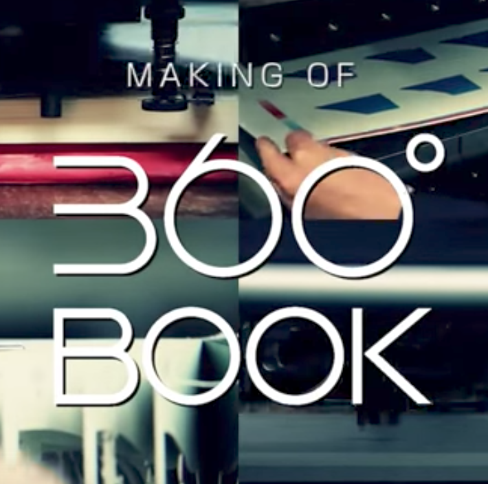 360° BOOK メイキングムービー / making of the 360°BOOK
