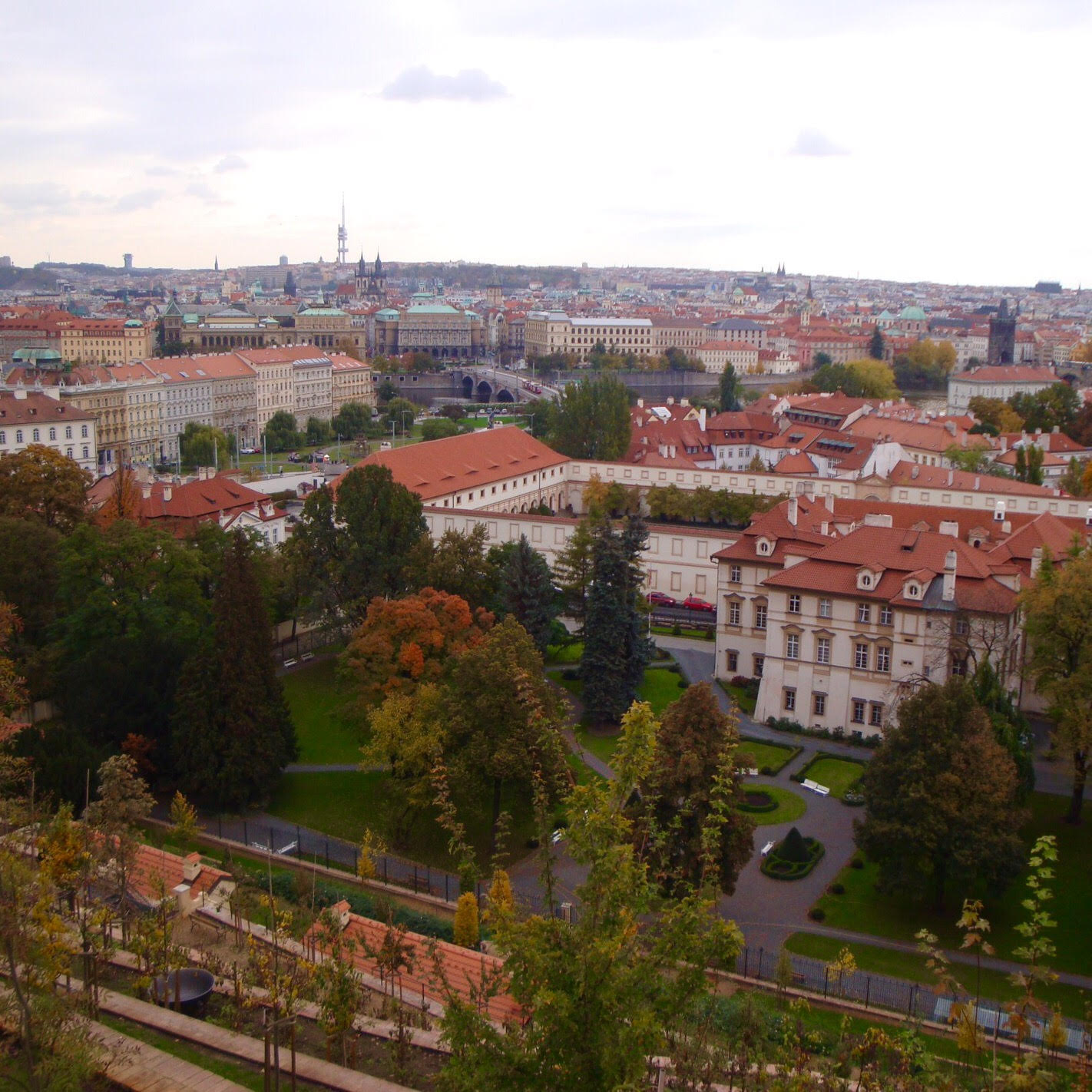 ポーランドの街並み