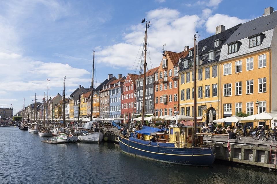 デンマーク コペンハーゲンの街並み
