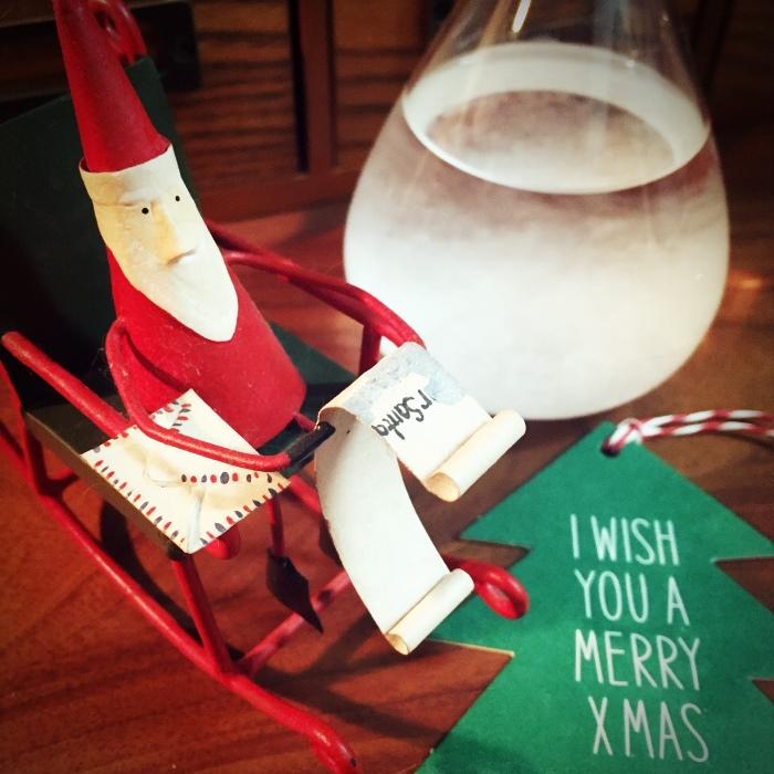 我が家もすっかりクリスマスモード!