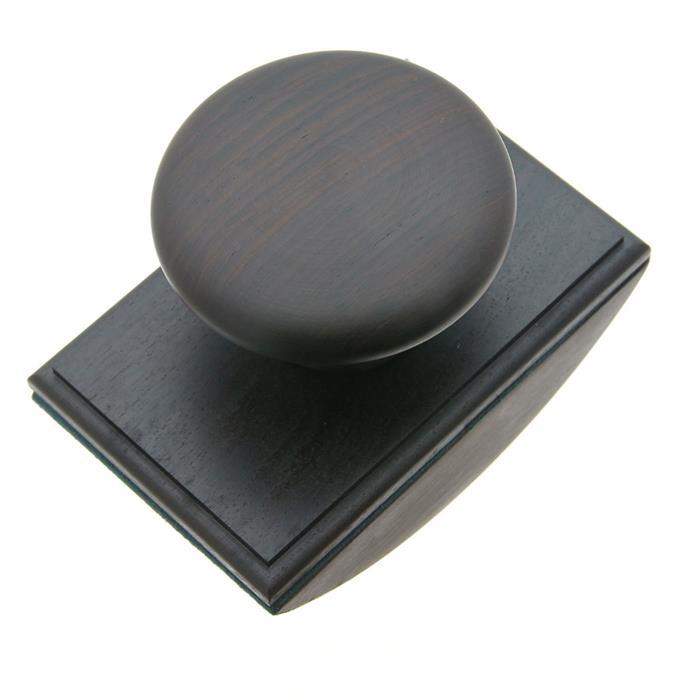 深く濃い色が魅力の「ブラックウッド」ミニサイズのブロッターです