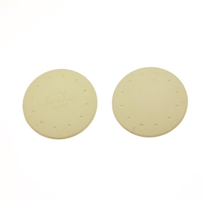 丸型の消しゴムは薄い為、何かと便利。