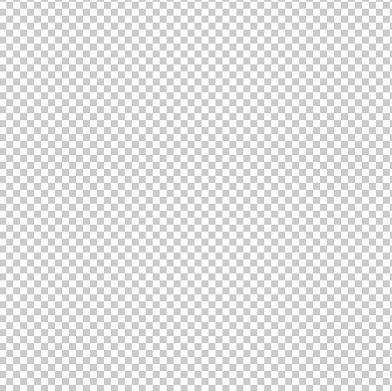 photoshopでは透明を表現するために白とグレーの市松模様が用いられます